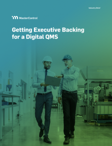 Getting Executive Backing for a Digital QMS