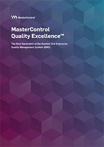MasterControl Quality Excellence™