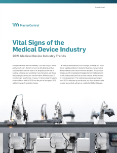 Medical Device Trends in 2021