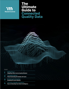 The Ultimate Guide to Connected Quality Data