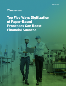 Top Five Ways Digitization of Paper-Based Processes Can Boost Financial Success
