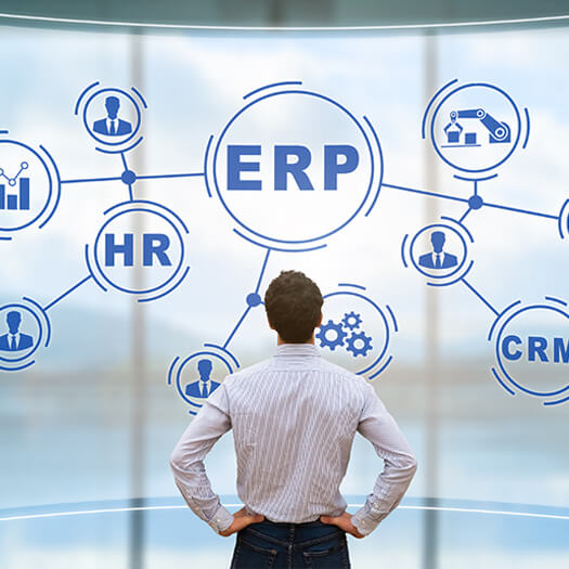 Connected dots of ERP and other processes