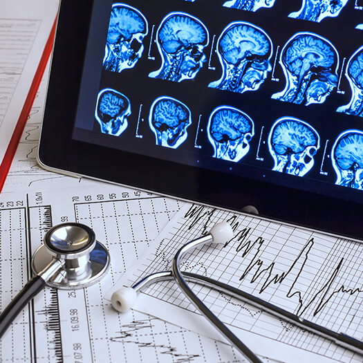 Clinical trial software being used