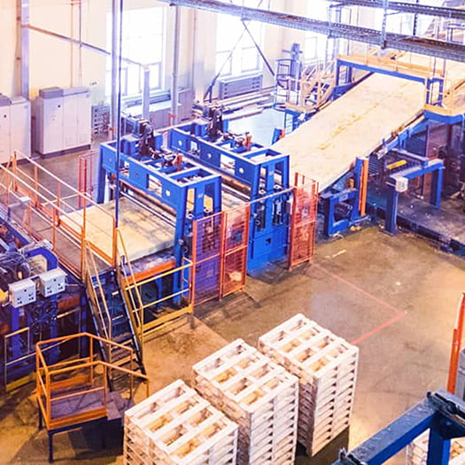 View of a manufacturing shop floor