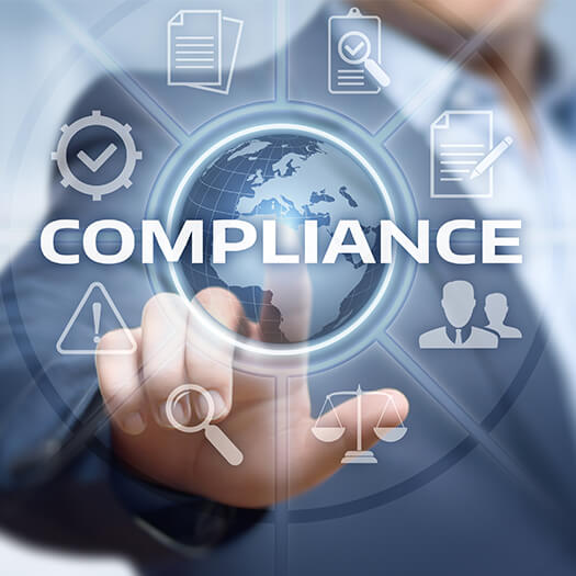 Icon of compliance