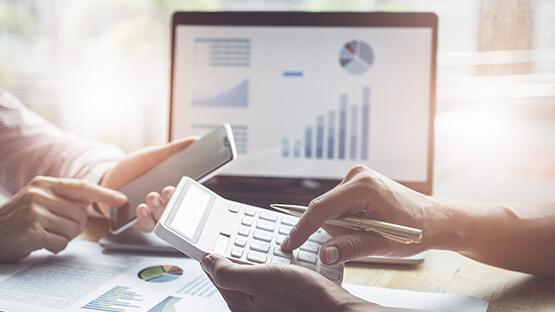 Audit management software on tablet and computer