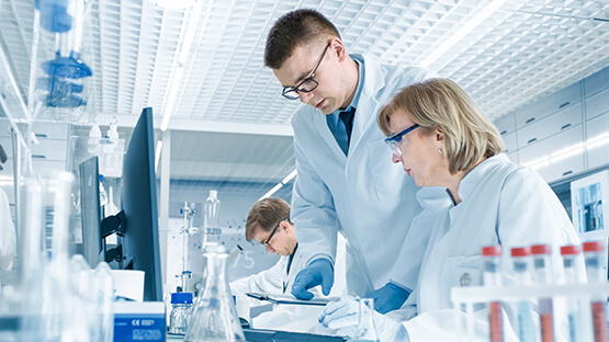 Clinical trial workers using software