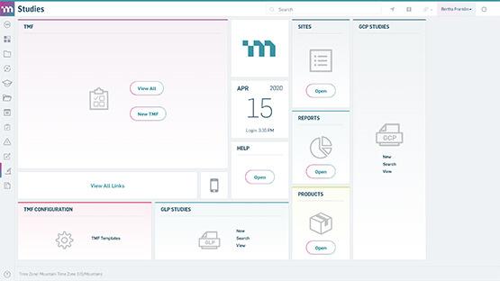 MasterControl eTMF software example