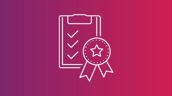 Clipboard checkmarks icon