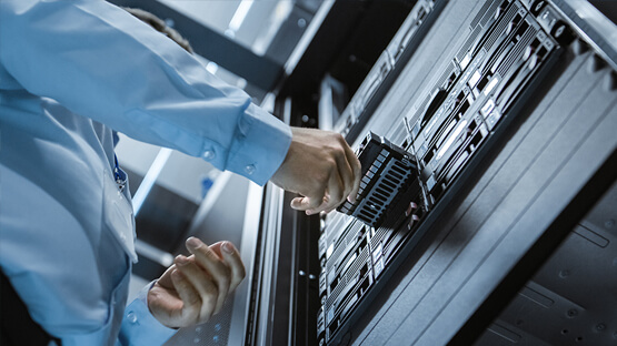 Cloud technology solutions and servers