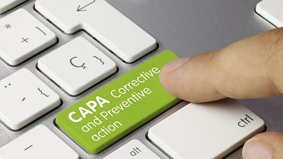 CAPA button on a laptop keyboard