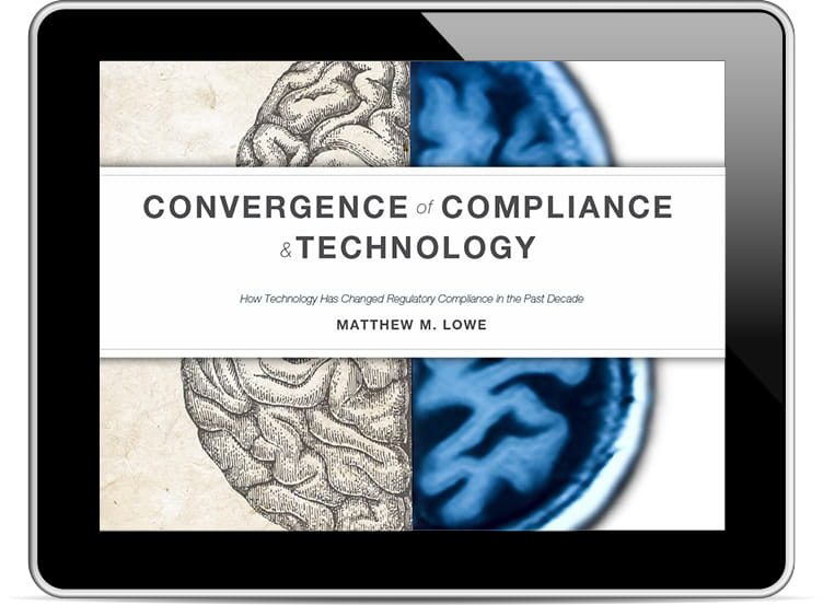 Convergence of Compliance and Technology eBook Cover