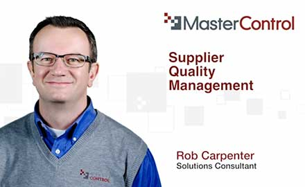 Automating Your Supplier Quality Management