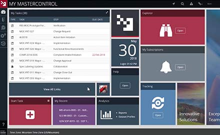 Demo MasterControl Change Control Software